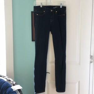 Gap 1969 always skinny dark jeans
